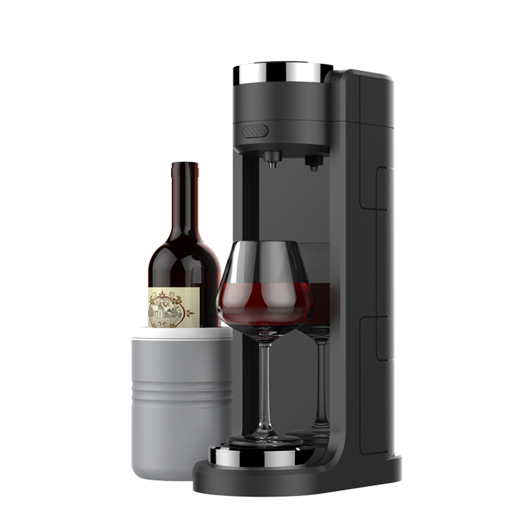 High Efficiency ABS Wine Aerator Cooling Machine With Cooling Cup To Keep The Wi